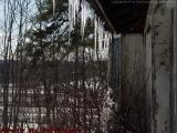 Icicles and Eaves, Groveland, NY