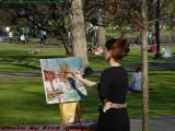 Making Art, Boston Public Garden