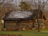 Historic Log Cabin, Village Park, Geneseo, New York