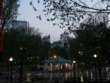 Frog Pond Gloaming Perspective, Boston Common