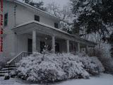 Seven Gullies Homestead in Falling Snow, Groveland, NY