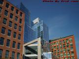 Glass Curves, Brick Lines, Boston Waterfront Architecture