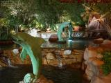 Dancing Dolphins, Fountain View, Las Vegas, Nevada